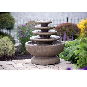 Four Tier Gozo Cement Fountain