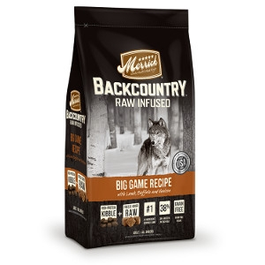 Merrick Backcountry Raw Infused Big Game Recipe Dog Food