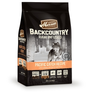 Merrick Backcountry Raw Infused Pacific Catch Recipe Dog Food