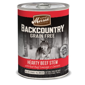 Merrick Backcountry Hearty Beef Stew
