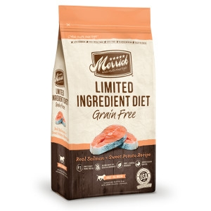 Merrick Limited Ingredient Diet Real Salmon and Sweet Potato Recipe Dog Food