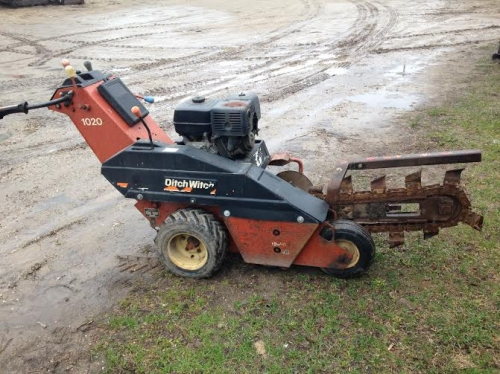 3' Ditch Witch Trencher