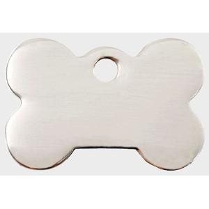 Stainless Steel Pet Tag - Bone