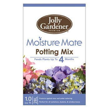Jolly Gardener Moisture Mate Potting Mix with Food, 1 cu. ft.
