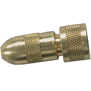 Brass Adjustable Cone Nozzle w/ Viton
