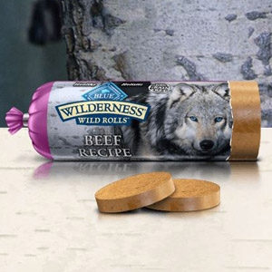 BLUE Wilderness® Wild Rolls™ Beef Recipe for Dogs