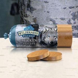 BLUE Wilderness® Wild Rolls™ Chicken Recipe for Dogs