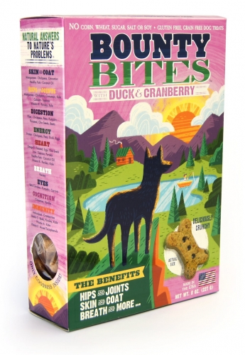 Mighty Bites Duck & Cranberry Biscuits 8oz