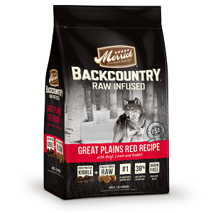 Backcountry Dry Dog Food - Raw Infused - Great Plains Red Meat Recipe