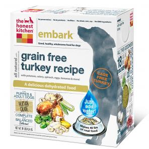 Honest Kitchen Embark Grain Free Turkey Dog Food