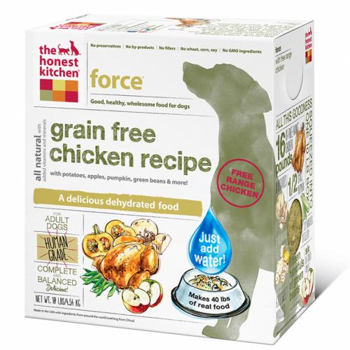 Honest Kitchen Force Grain Free Chicken Dog Food