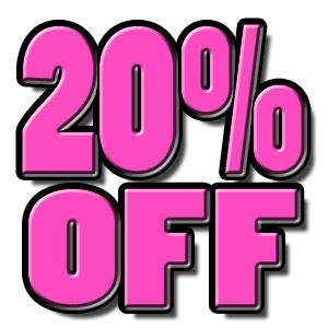 20% off on all leashes and collars!