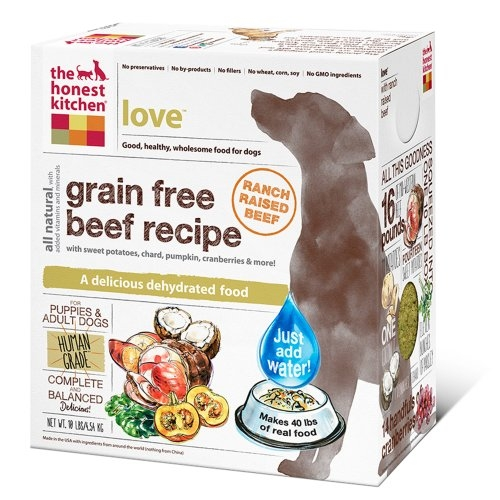 Honest Kitchen Love Grain Free Beef Dog Food