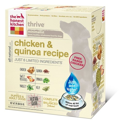 Honest Kitchen Thrive Chicken and Quinoa Dog Food
