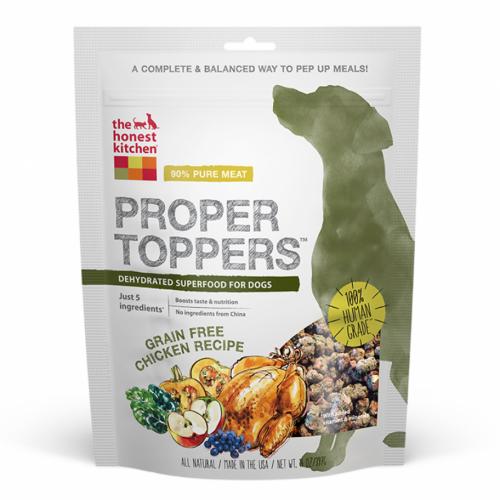 Honest Kitchen Proper Toppers Grain Free Chicken Superfood