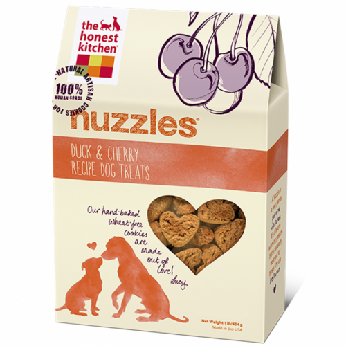 Honest Kitchen Nuzzles Duck and Cherry Cookies