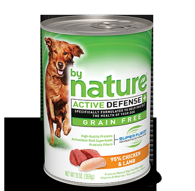 By Nature Chicken And Lamb No Grain Wet Dog Food