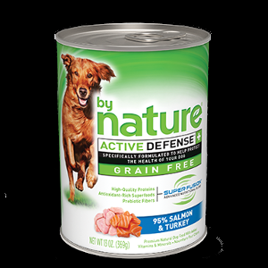By Nature Salmon And Turkey No Grain Wet Dog Food
