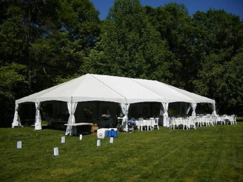 Frame 30' Jumbotrac Lite White Tent