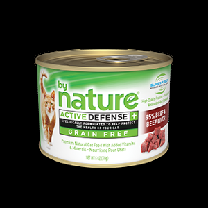 By Nature Beef And Beef Liver Wet Canned Cat Food