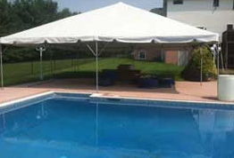 30' x 30' Frame Party Tent