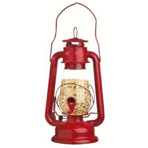 Hurricane Lantern Bird Feeder
