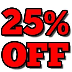 25% Off Aerator Rentals