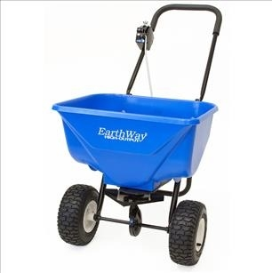 Earthway 2040Pi Broadcast Spreader, 65 lbs, pneumatic