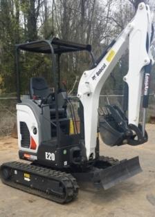 Trackhoe/Excavator E-20 w/ thumb