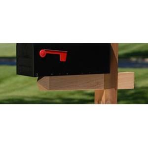 Treated Wood Mailbox Post: $29.87