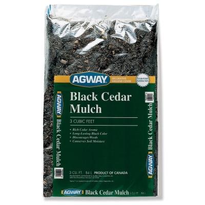 Agway Black Cedar Mulch 3 Cu.ft.