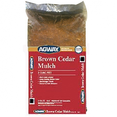 Agway Brown Cedar Mulch 3 Cu Ft