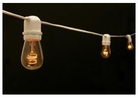 TentwaresCafe String Lights, 50'