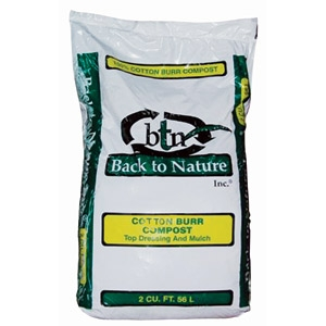 Cotton Burr Compost by Back to Nature