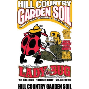 Hill Country Garden Soil by Lady Bug
