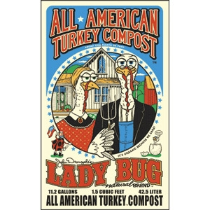 All American Turkey Compost by Lady Bug