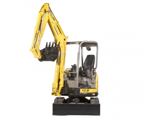 Mini Excavator with mechanical thumb