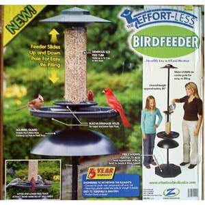Effortless Bird Feeder