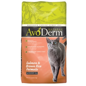 AvoDerm® Adult Salmon & Brown Rice