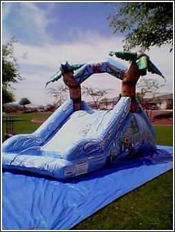 Bounce House, Waterslide