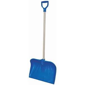 Rugg Manufacturing 18in€ Poly Combo Snow Shovel