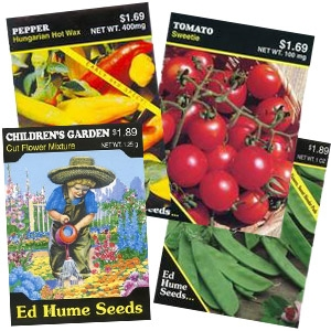 15% off Ed Hume Seeds