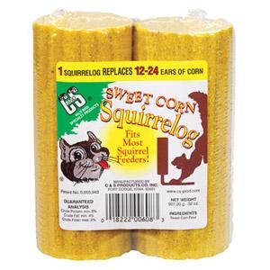 C & S Sweet Corn Squirrel Log