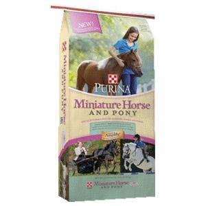 Purina® Miniature Horse and Pony Feed