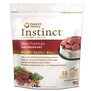 Instinct Raw Frozen Diet for Dogs & Cats