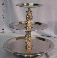 Deluxe Tray, Three-Tiered