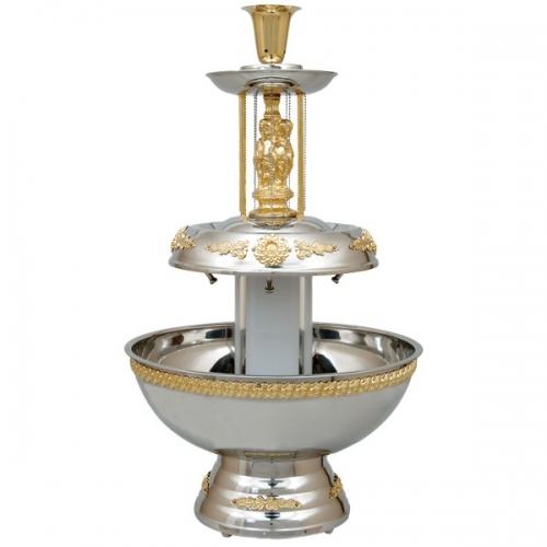Stardust Gold Decorated Fountain 5 Gallon