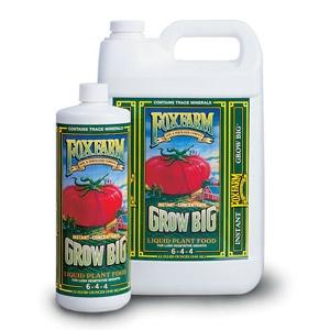 Fox Farms Grow Big Liquid Plant Food (6-4-4)