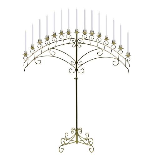 Brass Candelabra 15 lite by Koch