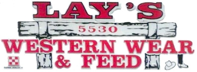 Lays Western Wear & Feed, Inc. Logo